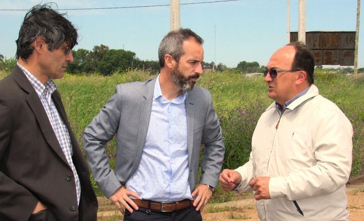 El senador Dalton Jáuregui recorrió obras en Saladillo