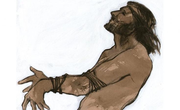"""Pinturas del Martín Fierro en el """"Dámaso Arce"""""""