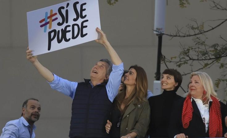 Macri envió un audio a los olavarrienses que invita a la marcha del #SiSePuede
