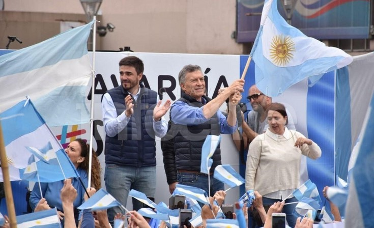 """Macri y el """"Sí se Puede"""" en Olavarría: """"Quiero decirles que el gato aguanta"""""""