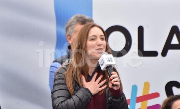 """María Eugenia Vidal: """"El 27 gana el equipo de los que no se rinden"""""""