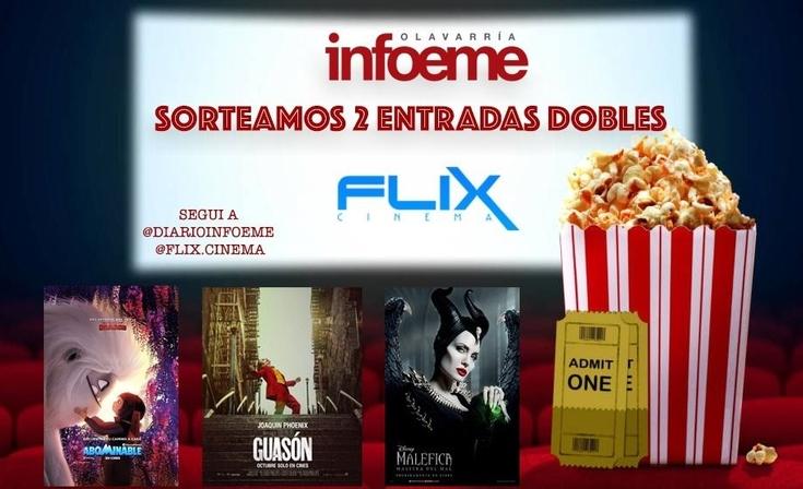Ganá entradas para ir a Flix Cinema Olavarría