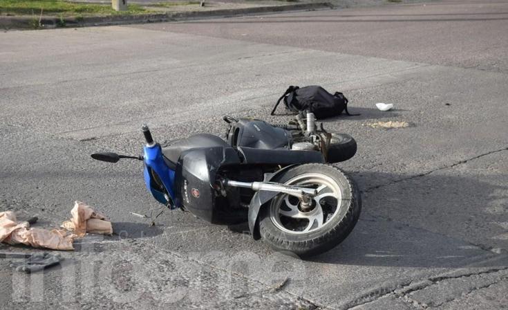 Un hombre resultó herido tras un accidente