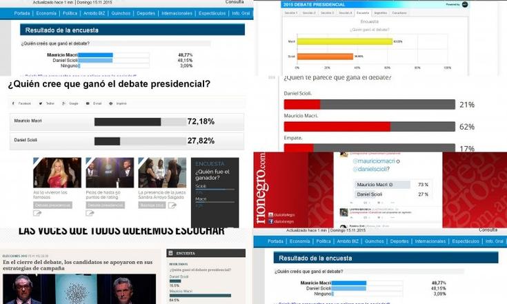 Las encuestas tras el debate presidencial