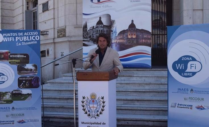 Inauguraron seis puntos WiFi de acceso público en la Ciudad