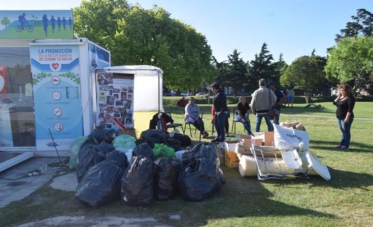 """""""Un Día para Dar"""": jornada solidaria en el Parque Mitre"""