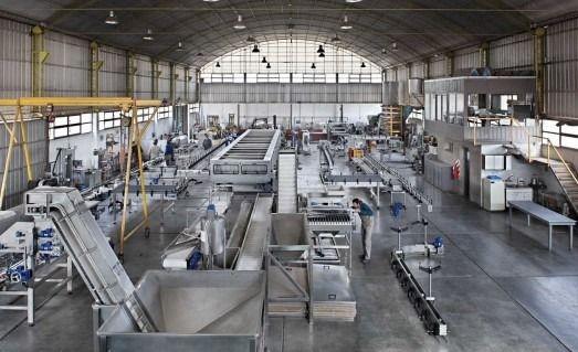 El uso de la capacidad instalada de la industria cayó al 56,6%