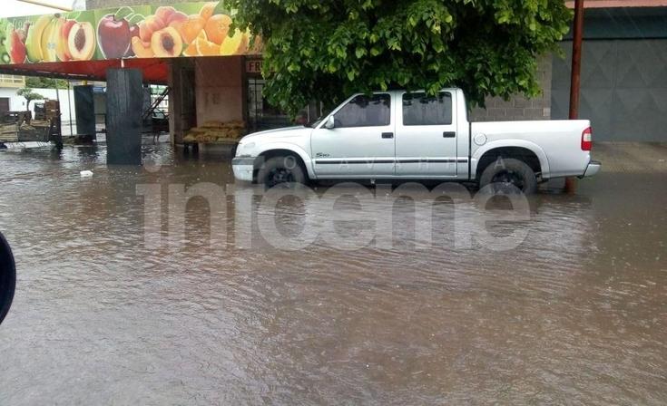 Intensa lluvia con complicaciones en la ciudad