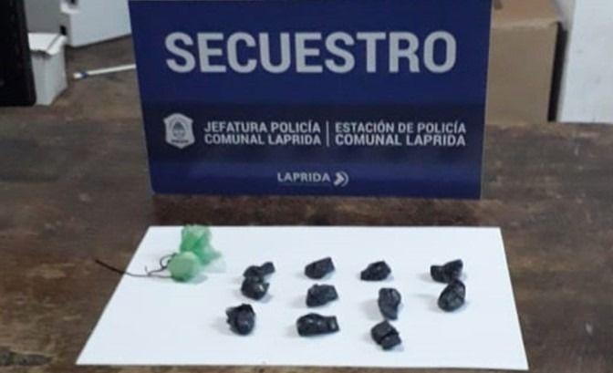 Laprida: atrapan con cocaína a jóvenes domiciliados en Olavarría