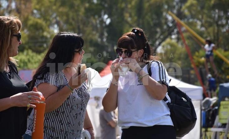 Sierras Bayas tuvo su 11º Fiesta del Choripán Serrano