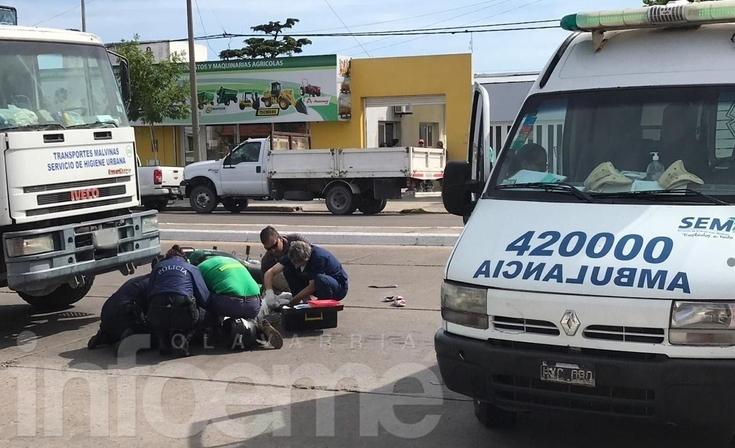 Necesitan dadores de sangre para la mujer que sufrió un grave accidente