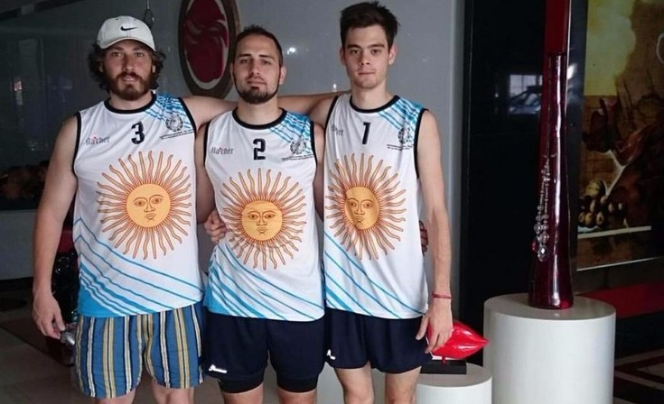 Olavarriense presente en los Beach Games en Brasil