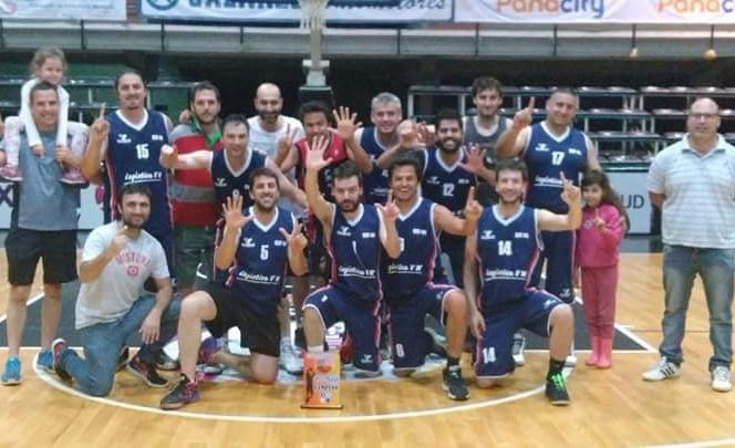 El CEF 44, el campeón de Maxiliga