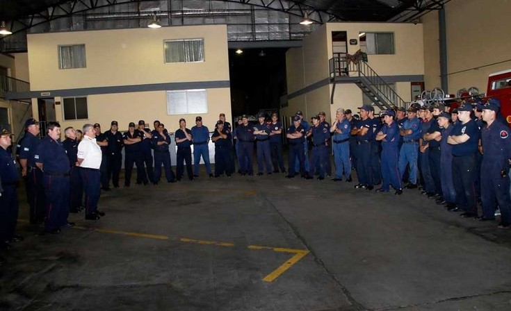 Bomberos Voluntarios realizó la última capacitación del año