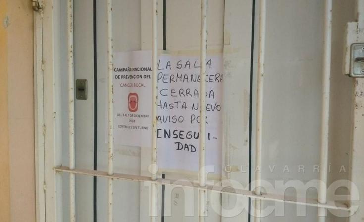 Por amenazas y violencia debieron  cerrar el CAPS del barrio Lourdes