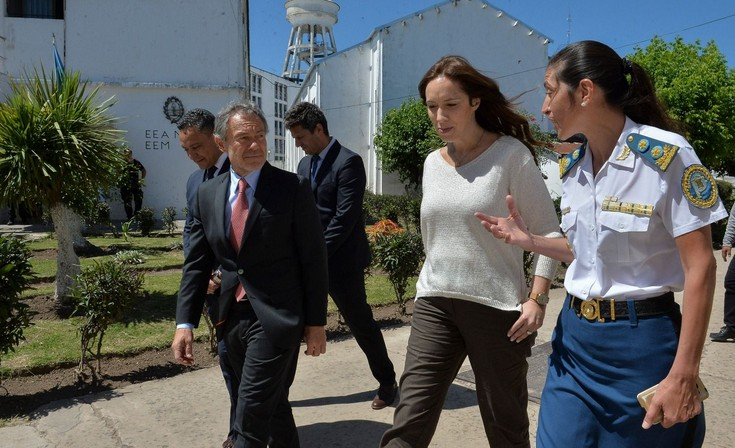 Norma Puccia recibió a Vidal en Olmos