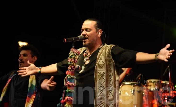 """El """"Indio"""" Lucio Rojas fue la estrella del Festival"""