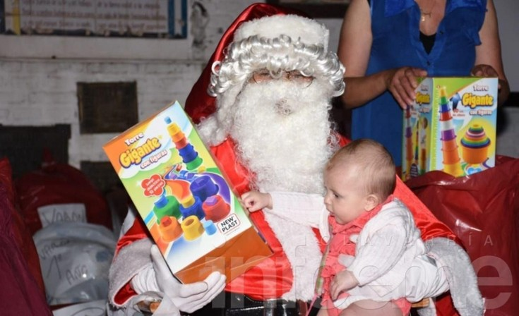 La magia de Papá Noel en imágenes