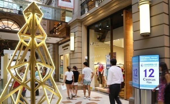 En Navidad las ventas minoristas cayeron un 9%