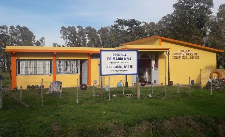 La Escuela Rural Nº 47 se prepara para festejar un nuevo cierre de año