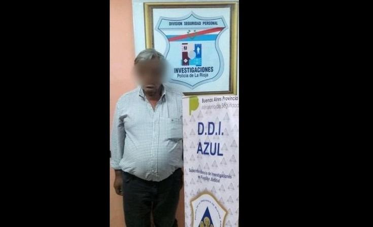 Pidieron el traslado a Azul del abusador olavarriense detenido en La Rioja