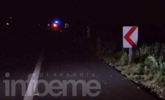 Un utilitario despistó y volcó sobre el costado de la Ruta: un herido