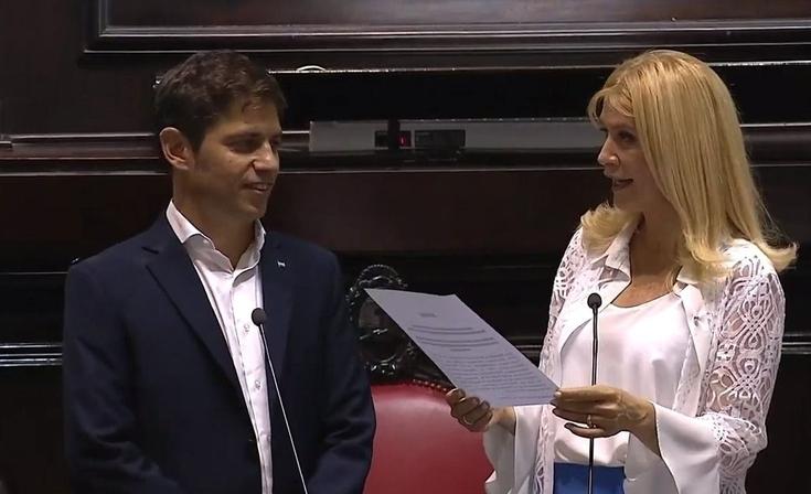 Juró Axel Kicillof y es el nuevo Gobernador